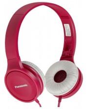 Слушалки Panasonic - RP-HF100E-P, розови -1