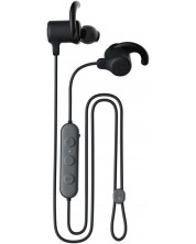 Слушалки с микрофон Skullcandy - JIB+ Active Wireless , черни -1