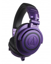 Слушалки Audio-Technica - ATH-M50XPB Limited Edition, лилави