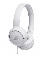 Слушалки JBL T500 - бели -1