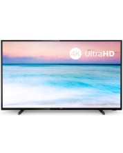 "Смарт телевизор Philips 43PUS6504 - 43"", 4K Ultra HD, LED, черен"
