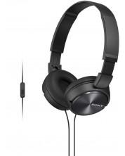 Слушалки с микрофон Sony MDR-ZX310AP - черни