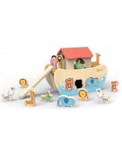 Детска дървена играчка – сортер Classic World – Ноев ковчег