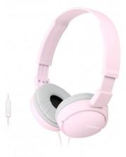 Слушалки Sony MDR-ZX110AP - розови