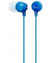 Слушалки Sony MDR-EX15LP - сини -1