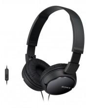 Слушалки Sony MDR-ZX110AP - черни