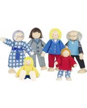 Гъвкави кукли Goki - Градско семейство -1