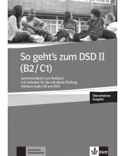 So geht's zum DSD II (B2/C1) LHB zum Testbuch mit Leitfaden+CD+DVD / Немски език - ниво В2-С1: Книга за учителя + CD и DVD (ново издание) -1