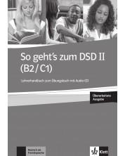 So geht's zum DSD II neu (B2/C1) LHB+CD / Немски език - ниво В2-С1: Книга за учителя + CD (ново издание) -1