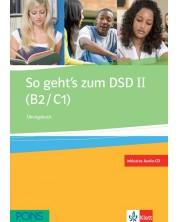 So geht's zum DSD II (B2/C1) Ubungsbuch + Audio-CD