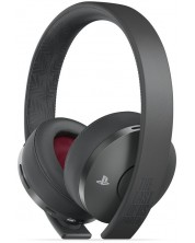 Гейминг слушалки - Gold Wireless Headset, The Last of Us Part 2 Limited Edition, 7.1, черни -1