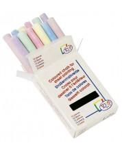 Цветни тебешири Toys Pure - 12 броя, в кутийка