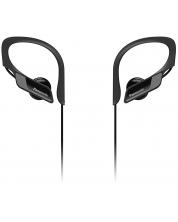 Слушалки с микрофон Panasonic RP-BTS10E-K - черни