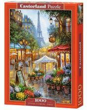 Пъзел Castorland от 1000 части - Пролетни цветя в Париж