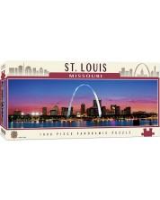 Панорамен пъзел Master Pieces от 1000 части - Сейнт Луис, Мисури