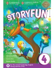 Storyfun for Movers Level 4 Student's Book with Online Activities and Home Fun Booklet 4 -1