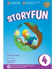Storyfun 4 Teacher's Book with Audio
