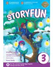 Storyfun for Movers Level 3 Student's Book with Online Activities and Home Fun Booklet 3 -1