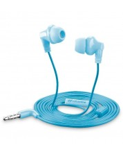 Слушалки с микрофон Cellularline - Smarty, сини