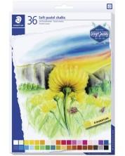 Меки пастелни тебешири Staedtler Design Journey - 36 цвята -1