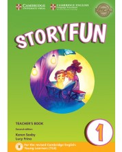 Storyfun for Starters Level 1 Teacher's Book with Audio