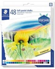 Меки пастелни тебешири Staedtler Design Journey - 48 цвята -1