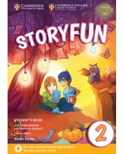 Storyfun for Starters Level 2 Student's Book with Online Activities and Home Fun Booklet 2 -1
