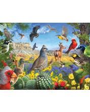 Пъзел SunsOut от 1000 части - Тексаски птици, Р. Кристофър Уест