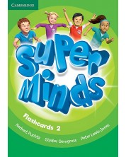 Super Minds 2: Английски език - ниво Pre-A1 (флашкарти)