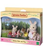 Комплект фигурки Sylvanian Families Furniture - Забавляващи се бебета