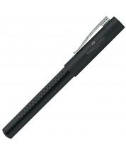 Тънкописец Faber-Castell Grip 2011 - Черен, с метално тяло -1
