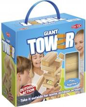 Парти игра Tactic - Гигантска кула, за игра на открито