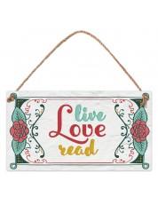 Табелка - Live Love Read