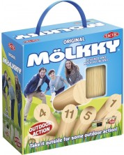 Парти игра Tactic - Molkky, скандинавски кегли, за игра на открито