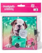 Таен дневник с катинар Paso Studio Pets –  Куче на ваканция -1