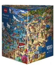 Пъзел Heye от 1000 части - Морски бряг, Биргит Танк