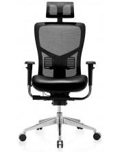 Ергономичен стол RFG - TECH@PRO, черен