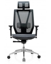 Ергономичен стол RFG - TECH@LINE, черен