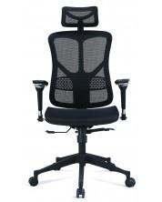 Ергономичен стол RFG - TECH@SMART, черен -1