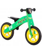 Дървено колело за баланс E&L Cycles - Костенурките Нинджа, 12 инча