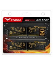 Оперативна памет Team Group T-Force - Vulcan TUF, 16GB (2x8GB), DDR4, 3600MHz -1