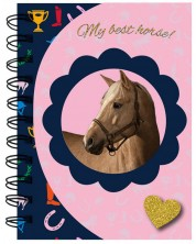 Тефтер с магнитно затваряне Paso Horse - My Best Horse, А6 -1
