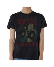 Тениска Rock Off Motley Crue - Vintage World Tour Devil