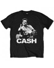 Тениска Rock Off Johnny Cash - Finger