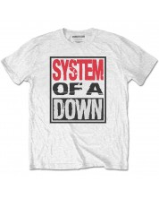 Тениска Rock Off System Of A Down - Triple Stack Box