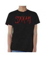 Тениска Rock Off Sixx:A.M. - Logo -1