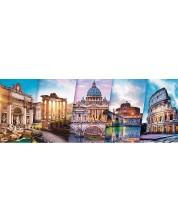 Панорамен пъзел Trefl от 500 части - Пътуване Италия