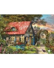 Пъзел Eurographics от 500 XL части - Къща в провинцията, Доминик Дейвисън