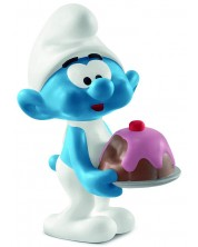 Фигурка Schleich The Smurfs - Смърф Лакомник
