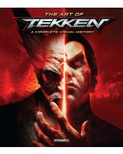 The Art of Tekken A Complete Visual History HC -1
